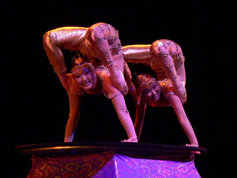 Double Contortion