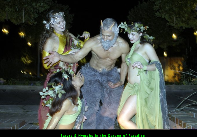 Satyrs & Nymphs in the Garden of Paradise