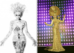 The Fashion World of Jean Paul Gaultier -  Jean Paul Gaultier Design Inspired Velocity's Gilded Gaultier