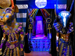 Portal into Ra-Balisk Temple - Installation in the Kimball education gallery in tandem with the International touring King TUT exhibit