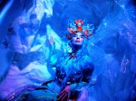 Mermaid Cove -contemplating the plight of humanity from her melting glacier-