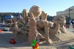 Octopus sandcastle