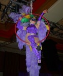 Purple Aerial Showgirl