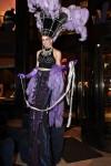 Purple Showgirl Stilter