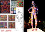 Artistic Nude - Sol Lewitt inspired Living Sculpture
