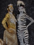 Artistic Nude - Zebra & Tiger Body Painting