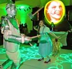 Dorothy and Tin Woodman